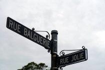Les noms de rue témoignent de la présence française