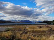 Vue sur le lac Tekapo
