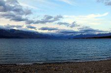 Vue sur le lac en fin de journée