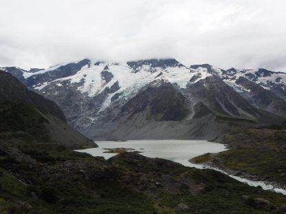 """Début de la """"Hooker Valley Track"""" vers le glacier"""