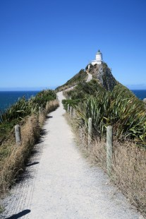 Le chemin vers Nugget Point