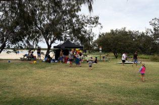 Un anniversaire sur la plage à Elliot's head, une façon de faire la fête très Australienne