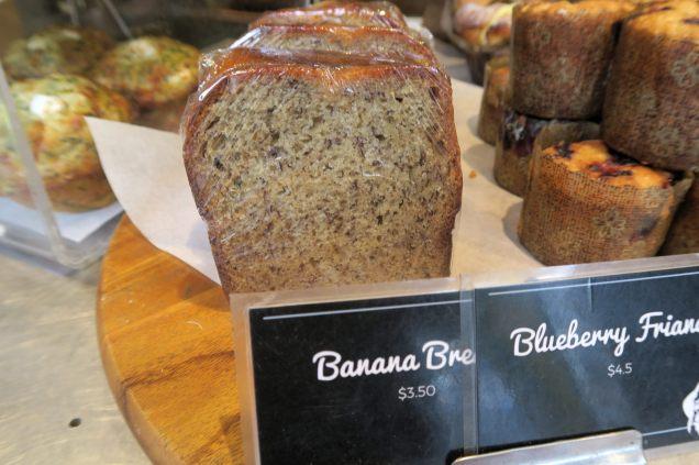 Le Banana Bread : gâteau à la banane, un genre de cake auquel on peut ajouter du miel et des noix