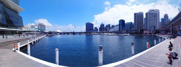 Panorama de Darling Harbour