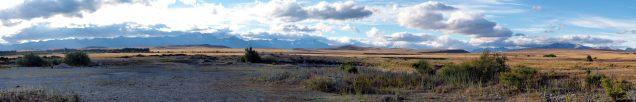 Panorama sur la route