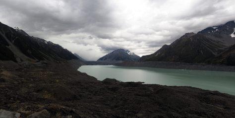 Panorama du Tasman Glacier