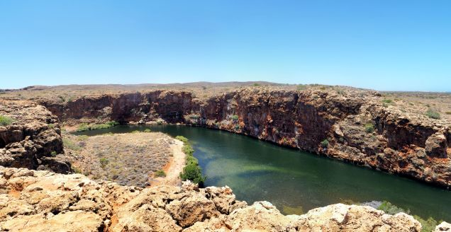Yardie Creek Gorge au Cape Range National Park