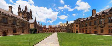 A l'intérieur de l'université de Sydney