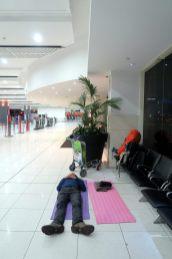 Le confort d'une nuit à l'aéroport