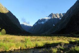Vue depuis Monkey Creek, le matin