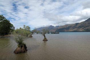 L'autre bout du lac Wakatipu