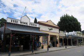 Les facades typiques de Arrowtown
