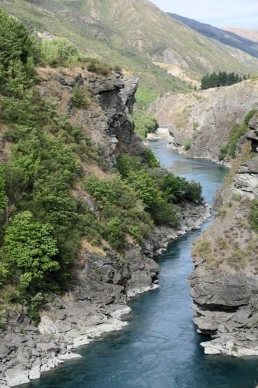 La rivière sous le pont de Kawanau
