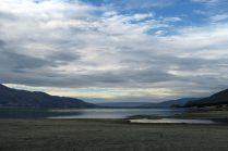 Notre bivouac pour la nuit, au nord de Wanaka, sur le lac Häwea