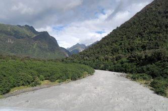 La vallée du glacier Fox