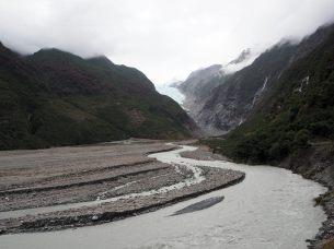 En route vers le glacier Franz Josef