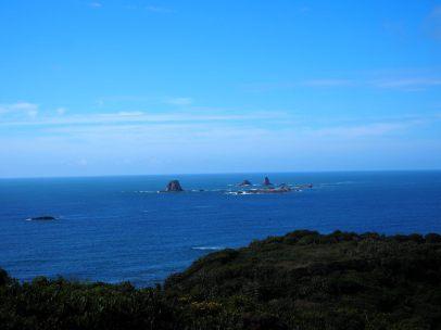 Vue depuis le Cape Foolwind
