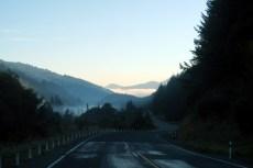 Sur la route vers Picton depuis Nelson