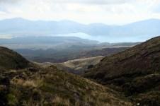 Et vue sur le lac Rotoaira et le magnifique Tongariro National park