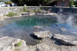 Source Rachel Spring (Température de 212 °F) à Rotorua
