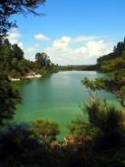 Lac Ngakoro, parc thermal de Wai-o-tapu
