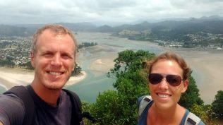 Selfie à Tairua (Coromandel)