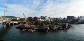 Panorama de Wellington et ses Docks