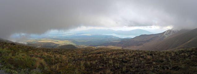Panorama de la redescente