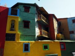 Les maisons colorées du quartier de la Boca, Buenos Aires