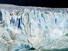 Le front du glacier Perito Moreno