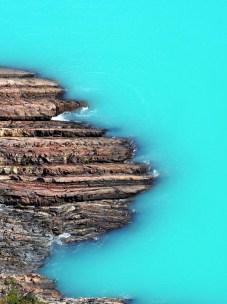 Les eaux de fonte du glacier Perito Moreno