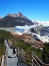 """Descente vers la """"proue"""" du glacier"""