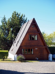Maison typique de Patagonie à El Calafate