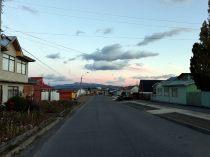 Puerto Natales de bon matin