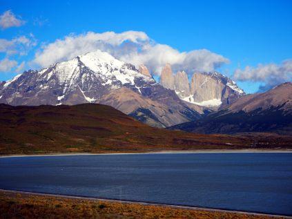 Les Torres del Paine au matin
