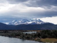 Parc National Torres Del Paine, vue depuis l'entrée Sud