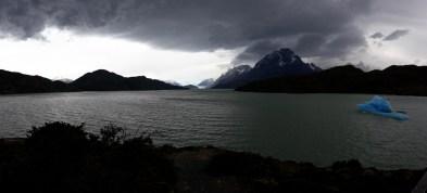 Panorama du Lac Grey, Parc National Torres Del Paine