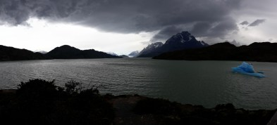 Panorama du Lac Grey, Parc National Torres Del Paine