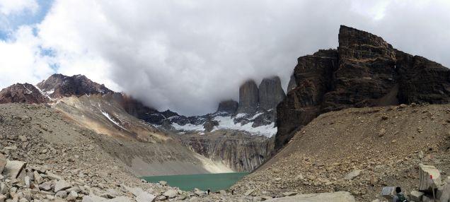 Panorama Parc National Torres Del Paine, Base des Torres