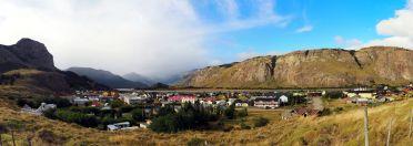 Panorama du village d'El Chalten