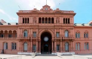 Le Palacio de Gobierno est surnommé Casa Rosada