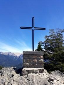 Croix en haut du Cerro Campanario, Bariloche
