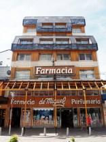 Architecture dans le centre de Bariloche