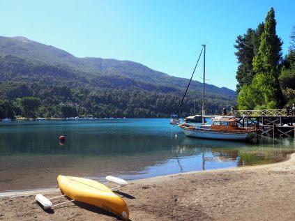Puerto Manzano, sur le lago Nahuel Huapi