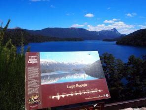 Panneau du lac Espejo