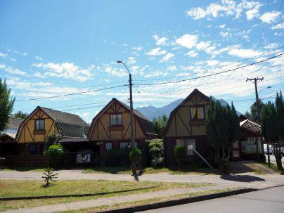 Maisons typiques à Pucon