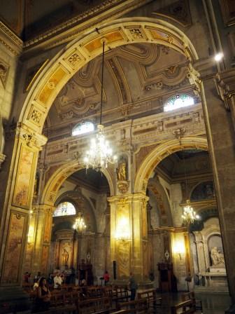 Dans la Iglesia Catedral sur la Plaza de Armas, Santiago