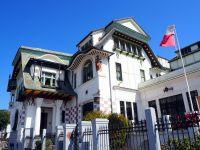 Le palais Baburizza, musée des beaux arts de Valparaiso