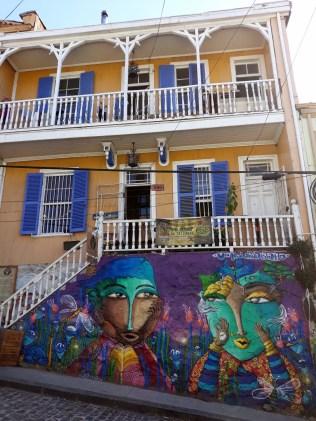 Peinture et architecture, Valparaiso