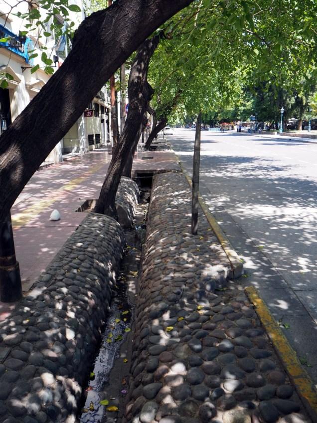 Système d'irrigation à Mendoza